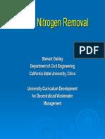 Onsite Nitrogen Removal Ppt