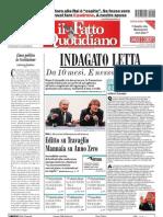 Il Fatto Quotidiano - 23/09/2009