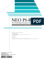 NEO PI R Profile Sample