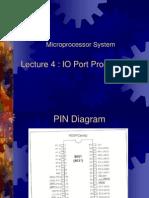 Lecture 4-IO Port Programming