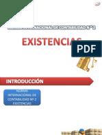 Nic 2 - Existencias