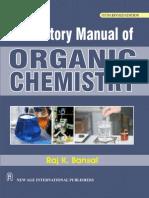 Laboratory Manual of Organic Chemistry