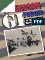 The American GI Forum