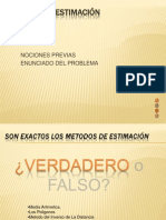 7 ERROR DE ESTIMACIÓN