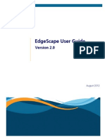 EdgeScape Users Guide