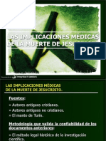 Implicaciones Medicas Crucifixion