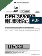 Pioneer Deh-3850mp 3850mph
