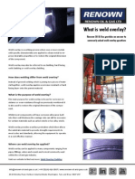 Information Sheet What is Weld Overlay