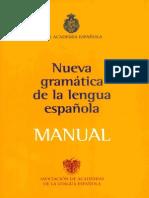 Nueva Gramatica de La Lengua Espanola