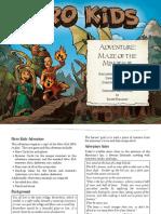 Hero Kids - Adventure - Maze of the Minotaur (Printer Friendly)