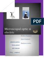 Microscopul optic si electronic