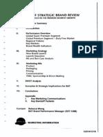 Bat Davidoff Strategic Brand Review 1992-1998
