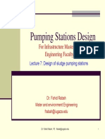 Pumping Stations Design Lecture 7
