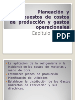 Cap No. 5 Planeacion y Presupuestos