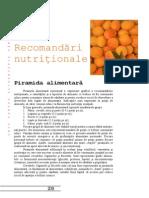 5 recomandari nutritionale