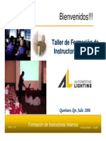 Intensivo for Instructores