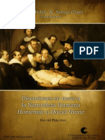 Discusiones en Torno a La Naturaleza Humana, Homenaje a David Hume