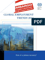 GLOBAL EMPLOYMENT TRENDS 2014 - Executive Summary