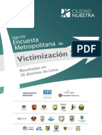 Lima-Encuesta de Victimizacion de Ciudad Nuestra 2012[1]