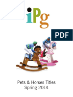 IPG Spring 2014 Pets & Horses Titles