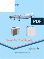 Vicot Solar Air Conditioning System