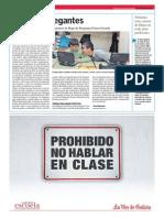 Aviso a navegantes.Convocada unha nova edición do concurso de blogs de Prensa-Escuela.La Voz de la Escuela.22.01.2014