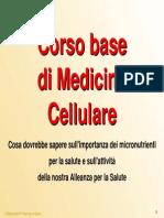 Corso Base Di Medicina Cellulare