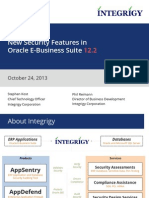 Integrigy New Security Features in Oracle EBS 12.2