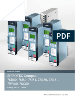 Siprotec Compact Catalog Sip3.01 Ed2 En0713