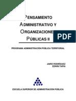 2 Pensamiento Administrativo y Organizaciones Publicas II.do