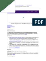 VMN Newsletter January 2014