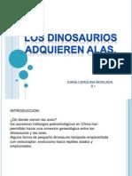 Diana Carolina Moncada 9.1 Los Dinosaurios Adquieren Alas