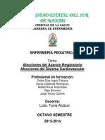 Afecciones Del Aparato Respiratorio
