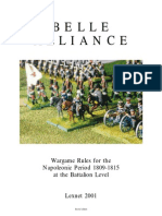 Belle Alliance Wargame rules