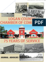 Logan County Chamber of Commerce 75 years of service