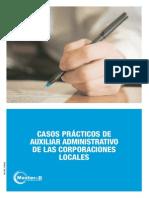 42911634 Supuestos Teorico Practicos Auxiliar Administrativo de Las Corporaciones Locales