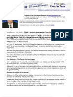 FOMC – Actions Speak Louder Than Words