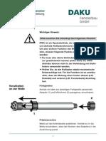 Anleitung Rollladenmotor