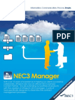 NEC3 Manager