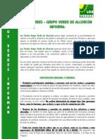 Los Verdes Informan (24/9/09)