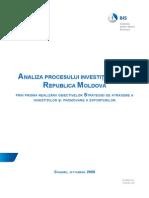 Analiza Procesului Investitional Din RM Actual