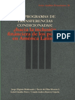 LIBRO Programas de Transferencias Condicionadas[1]