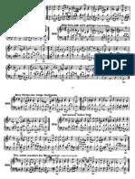 Bach chorales part 4piano