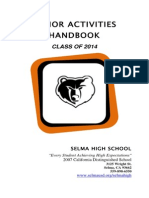 Senior Class of 2014 Activities Handbook