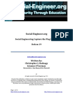 Social-Engineer Defcon 19 SECTF Results Report