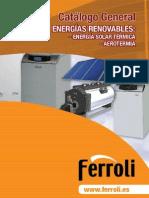 Catálogo Ferroli solar