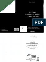 [Peter Haberle] Estado Constitucional Cooperativo - 2007
