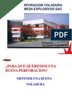 Perforacion y Voladura_FAMESA