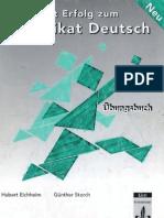Zertifikat Deutsch Uebungsbuch