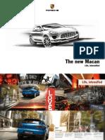 2015 Porsche Macan US Brochure